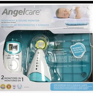 Angel Care Movement & Sound Baby Monitor New